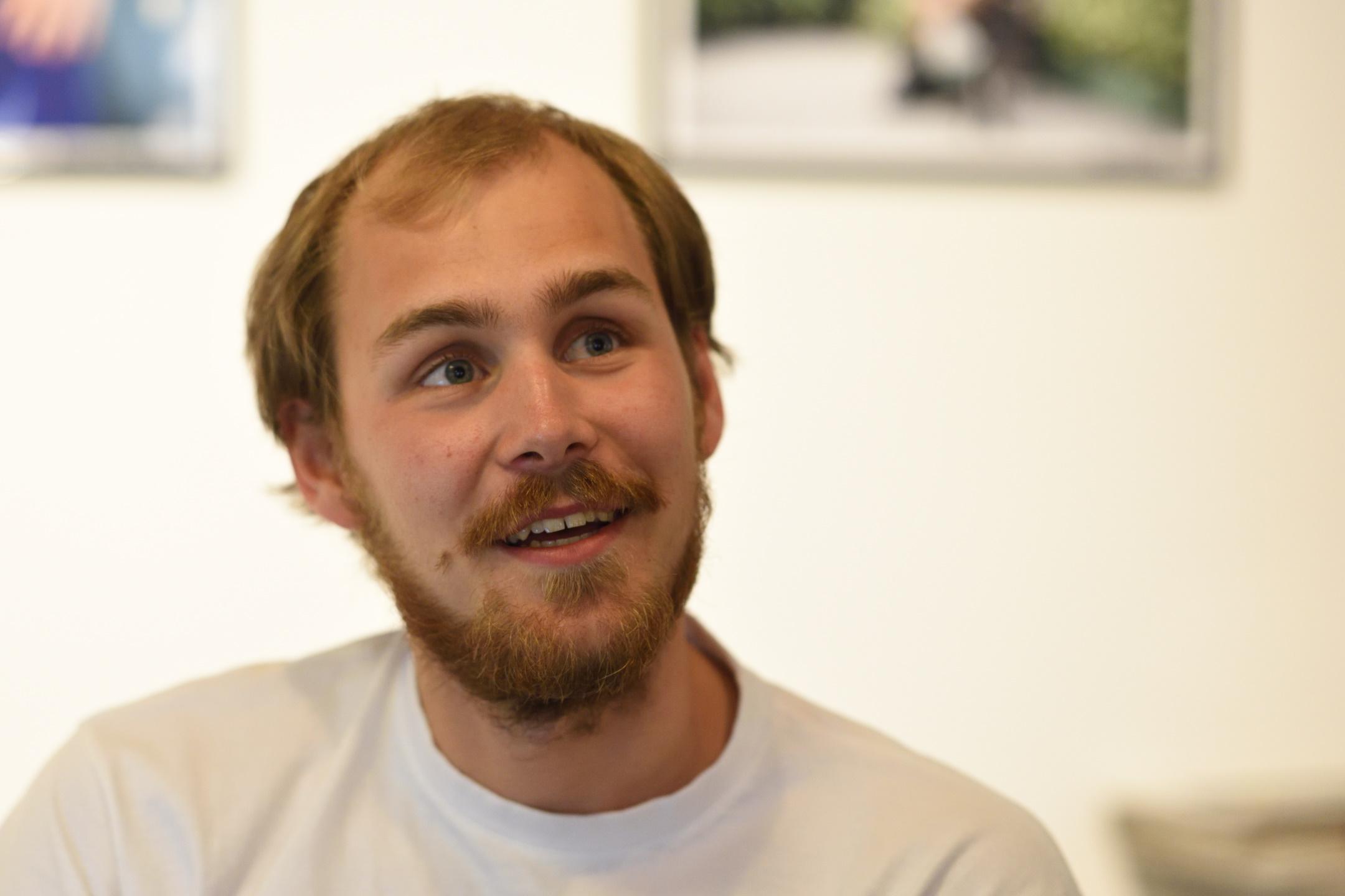2017-06-11 Emil Gyllenberg i gamla stan - foto: Magnus Norden