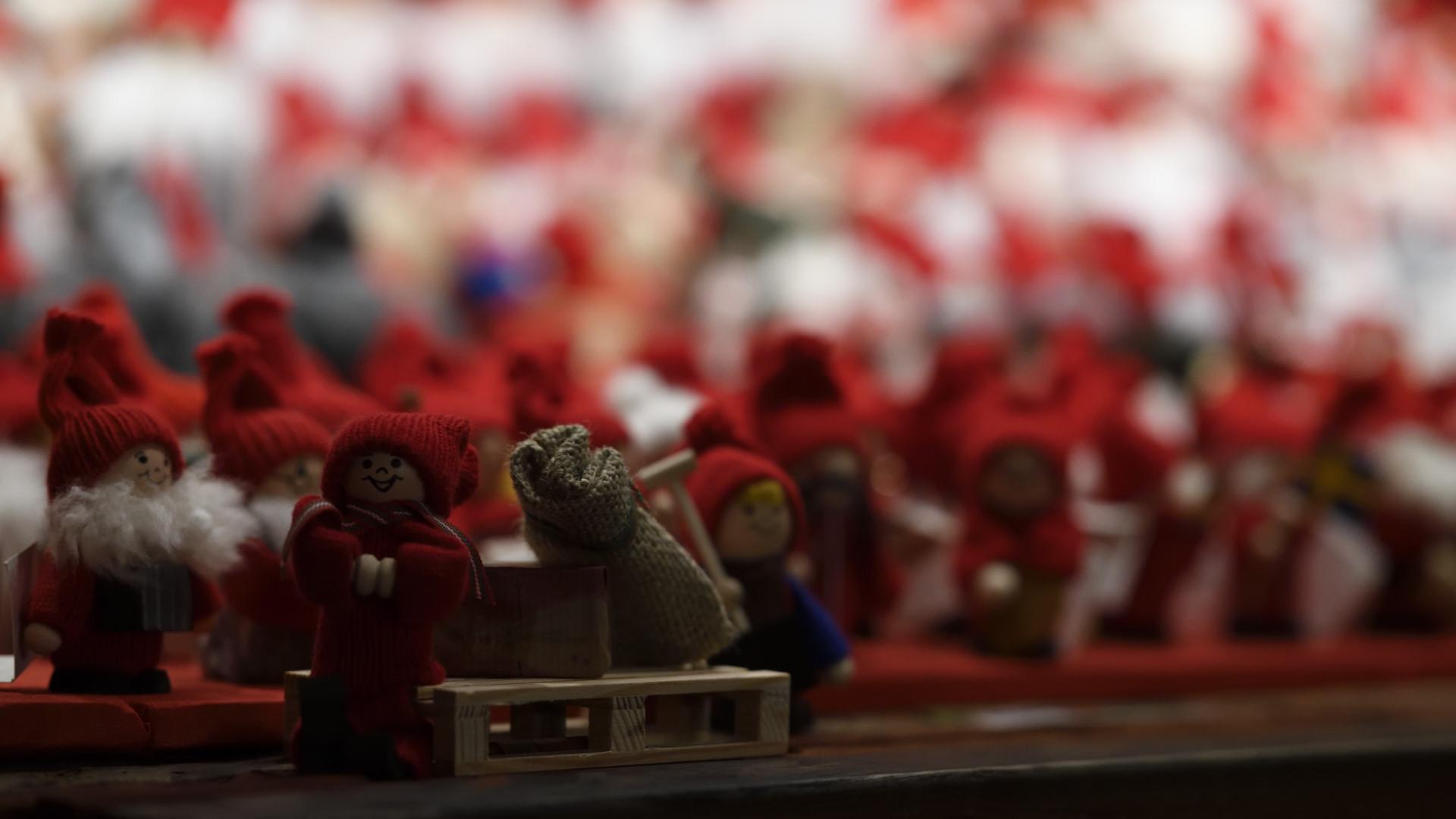 Julmarknad i Gamla Stan av Magnus Norden