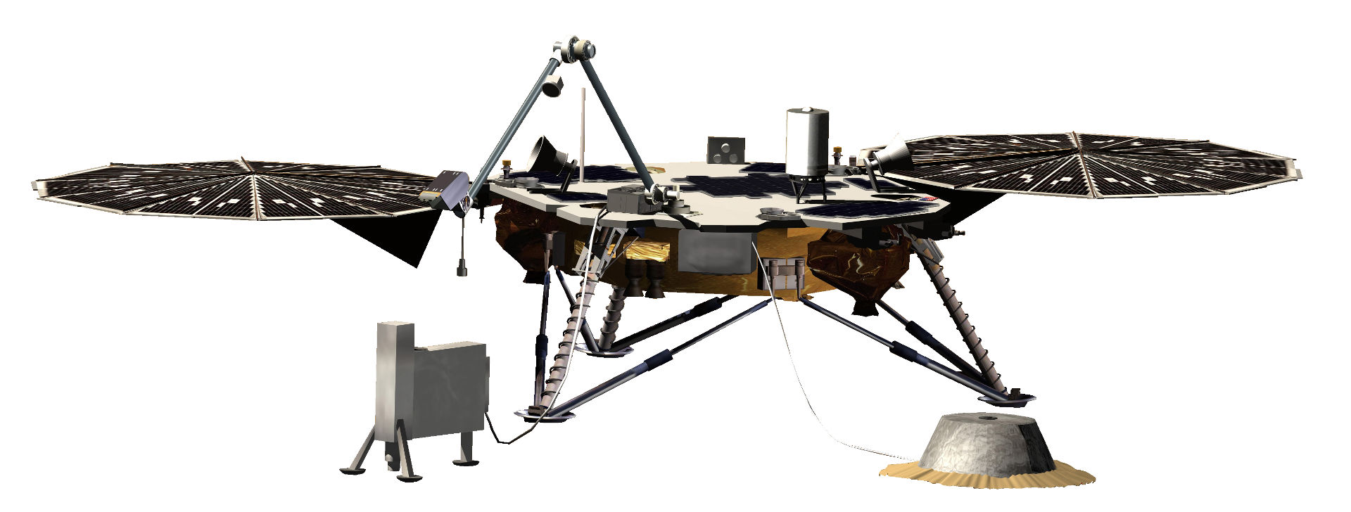InSight (Creds: NASA/JPL)