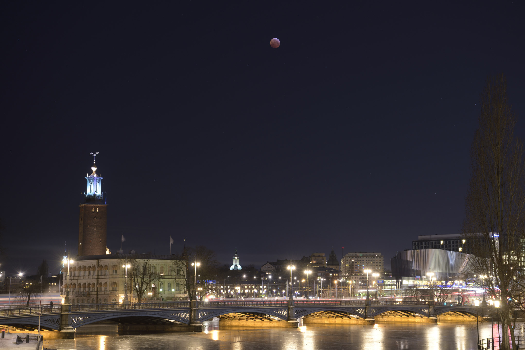 Lunar Eclipse 2019 by Magnus Norden